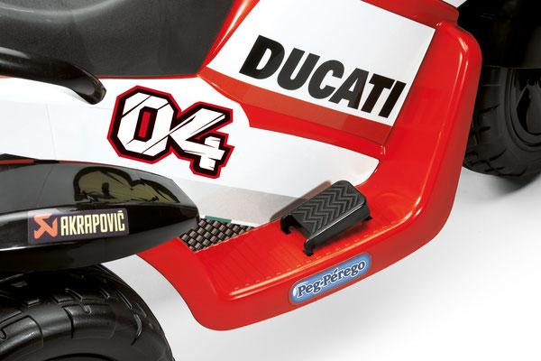 ducati desmosedici motorrad spielfahrzeug ducati detail pedal