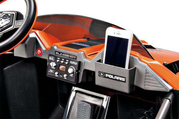 polaris slingshot quad 12v spielfahrzeug elektrofahrzeug detail armaturenbrett