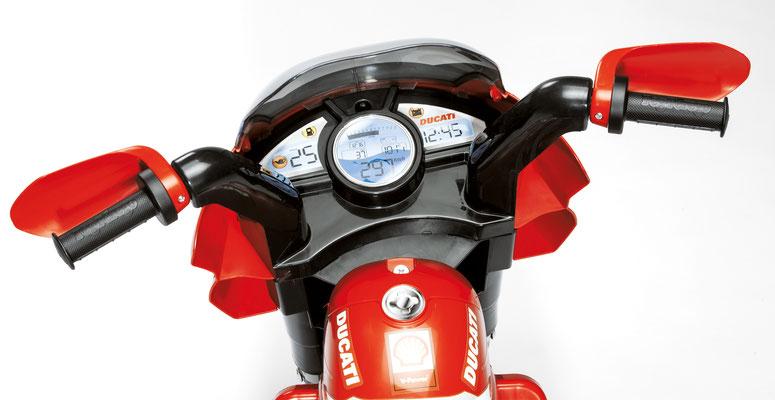 ducati desmosedici motorrad spielfahrzeug detail armatur