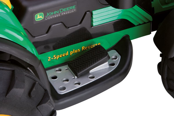 john deere ground force elektrofahrzeug spielfahrzeug detail pedal