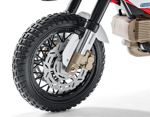 ducati hypercross elektromotorrad spielfahrzeug vorderrad