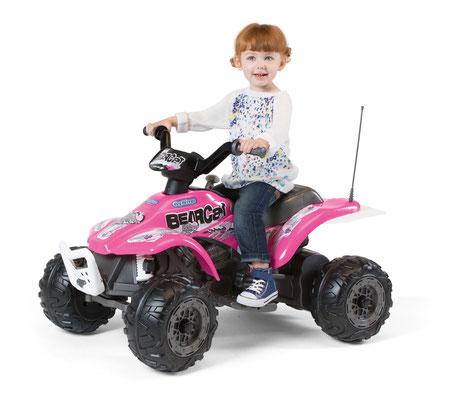 corral bearcat pink quad spielfahrzeug in betrieb