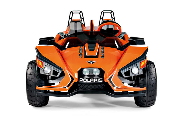 polaris slingshot quad 12v spielfahrzeug elektrofahrzeug front