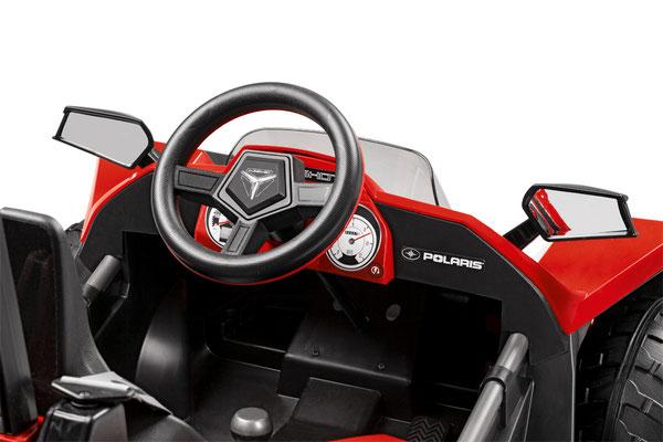 polaris slingshot 12v quad fernsteuerung elektrofahrzeug rc detail lenkrad