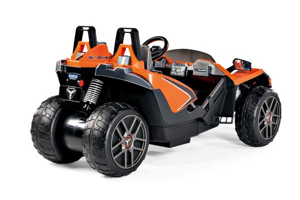 polaris slingshot quad 12v spielfahrzeug elektrofahrzeug profil hinten