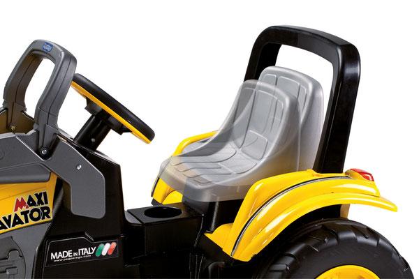 maxi excavator tretfahrzeug spielfahrzeug bagger profil