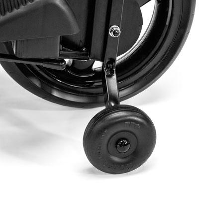 ducati gp elektromotorrad spielfahrzeug detail stützrad