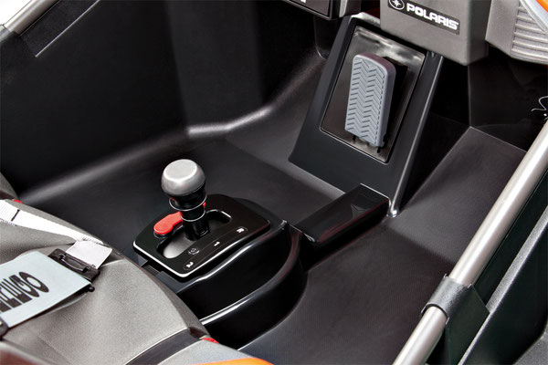 polaris slingshot quad 12v spielfahrzeug elektrofahrzeug detail gangschaltung
