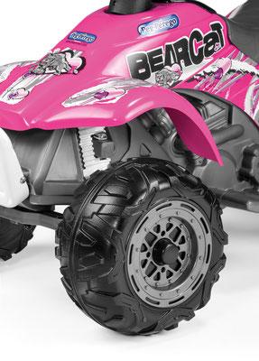 corral bearcat pink quad spielfahrzeug detail front
