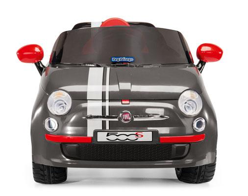 fiat 500 s spielfahrzeug elektroauto frontansicht