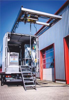 SAV ALL Trade GmbH Portalkran mit Ausleger
