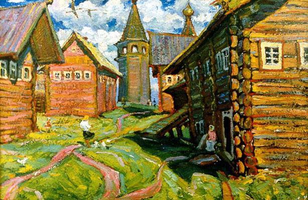 5. Ошевенск, к.м. 55х75, 1972