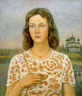 16. Лариса, к.м. 65х50, 1987