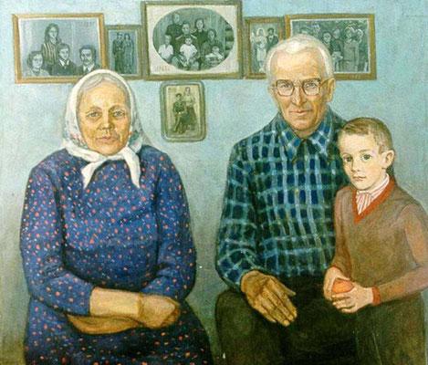 13. Родители, х.м. 80х90, 1989