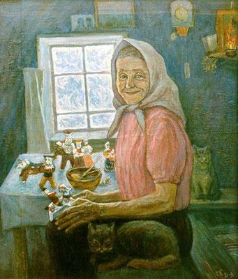 3. Ульяна Бабкина, к.м. 66х56, 1981-91