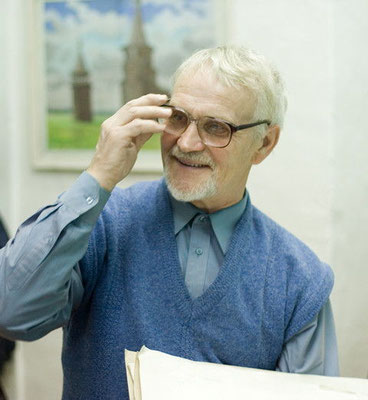 Г.А. Кулишов в худ. школе, Каргополь (G. Kulishov in the art school. Kargopol)