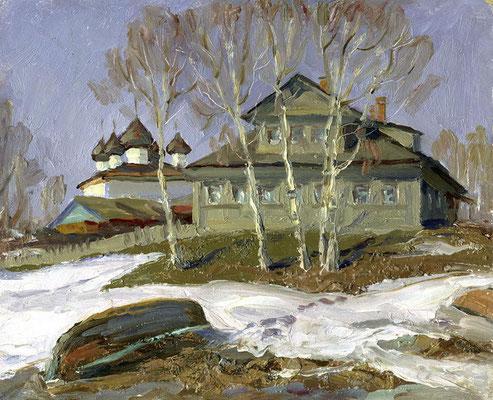 7. Дом на Пятницкой, к.м. 19х22,5, 1997