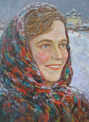 10. Каргополочка, к.м. 39х29, 1995