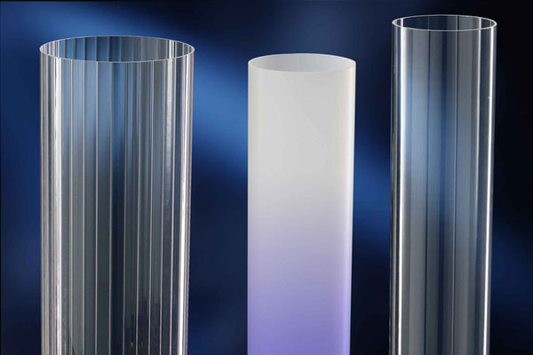 ATHEX PMMA tubes with inner prisms