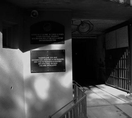 Bunker Maginotlinie Frankreich