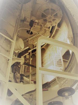 Kanonenturm innen - torre cannoni interno - cannon tower inside
