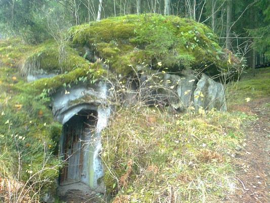 Eingang Bunker - ingresso bunker - entrence