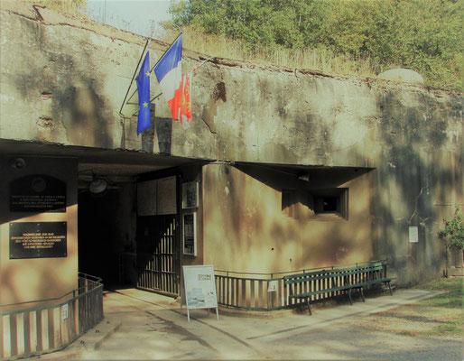 Materialeingang Bunker