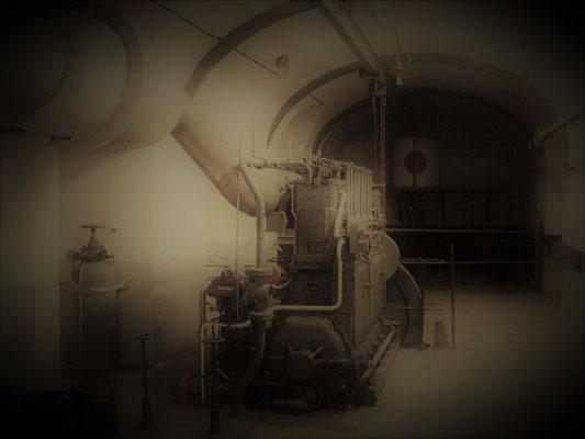 unterirdischer Generator Stromerzeugung - generatore elettrico sotteraneo