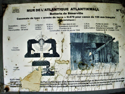 155 mm cannon atlantic wall - cannone muro atlantico - Kannone Atlantikwall