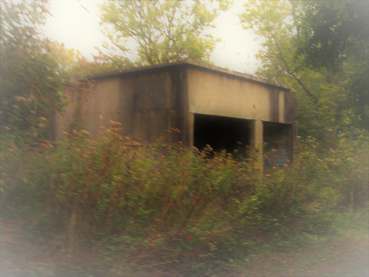 tank garage - Panzergarage - garage per carro armato
