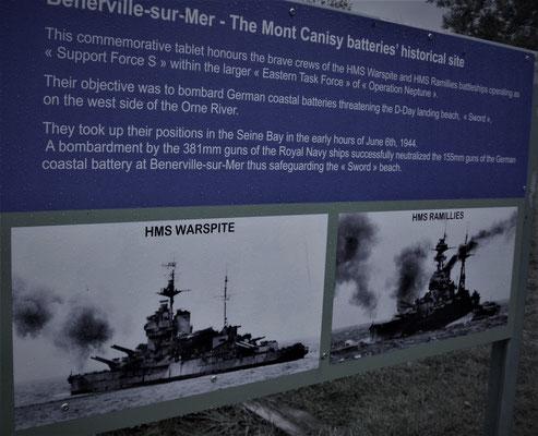 HMS Warspite + HMS Ramillies