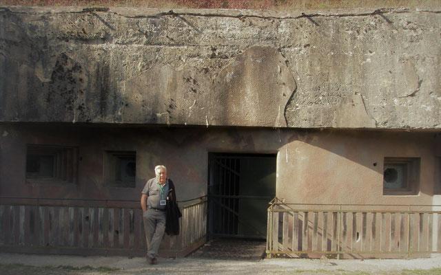 Bunkerführer Mannschaftseingang Bunker