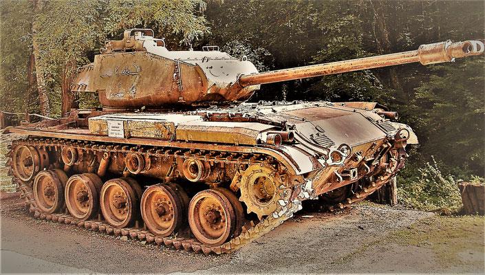Tank M24 Chaffe - Panzer - carro armato blindato