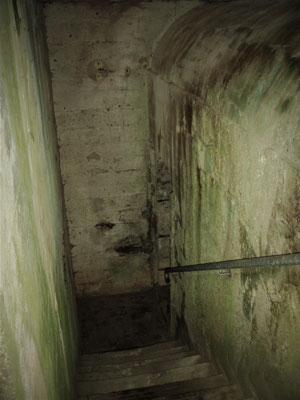 German Bunker inside