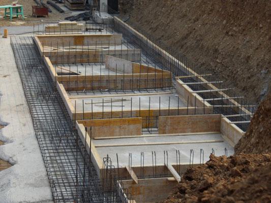 Eine Angefangene Baustelle der 3B Denkmalpflege & Bausanierung GmbH
