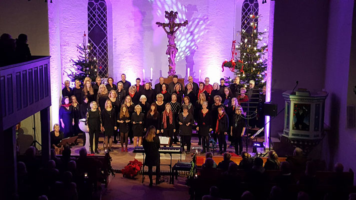 "Adventskonzert mit ""Heaven 111"" in Gleschendorf 2017"