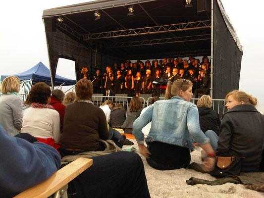 """Gospelnacht mit """"Heaven 111"""" am Strand 2012"""