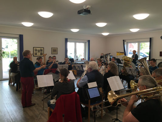 Brass Band WBI - Workshop mit Russell Gray 2018