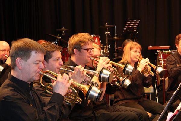 Brass Band WBI - Kornettsektion