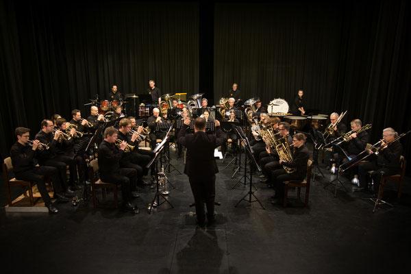 Brass Band WBI beim Neujahrskonzert 2020 in Bad Bramstedt