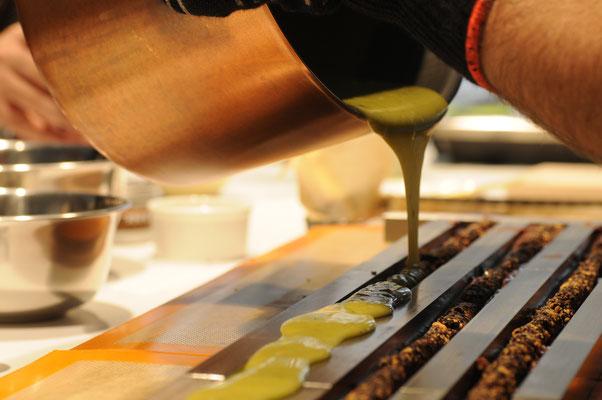Sushi Fudge aus unserem Workshop. Bei Interesse an einem unsererWorkshop freuen wir uns auf Ihre Anfrage auf info@aromakuenstler.de