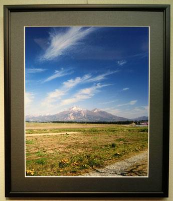早春の磐梯山(写真)村澤昭夫