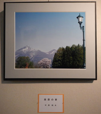 「高原の春」村澤昭夫 写真