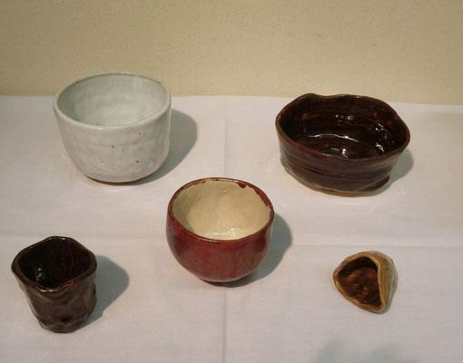 陶磁器(抹茶茶碗・ぐい飲み)紀秀三郎