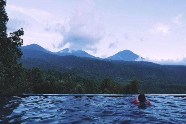 Infinite pool...