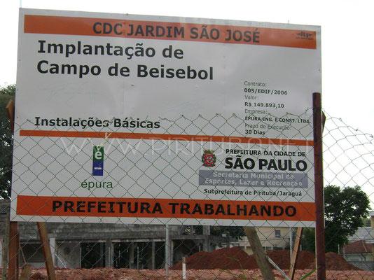 Novo campo no CDC Jd São José (2012)