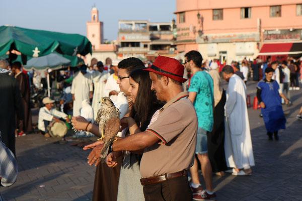 Place Jemaa-el-Fna, Marrakech