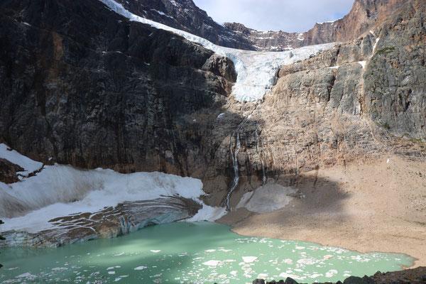 Angel Glacier sur le Mount Edith Cavell dans le Jasper National Park (Alberta - Canada)