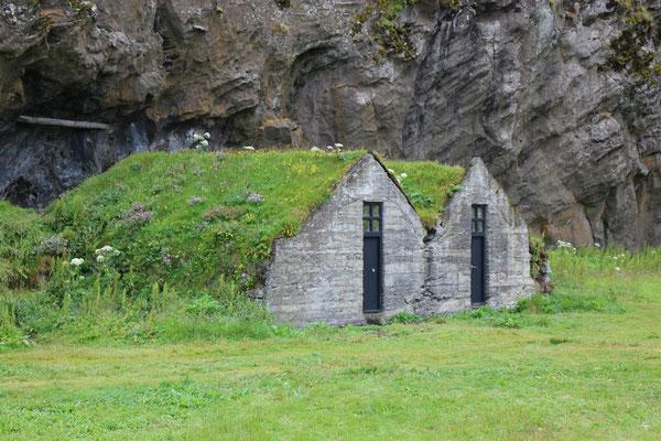 Turf Houses en Islande
