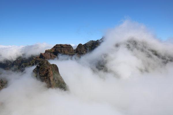 Pico do Arieiro, Madère